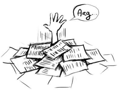 trop de papiers